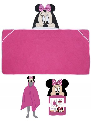 Toalla Poncho Minnie Mouse Disney