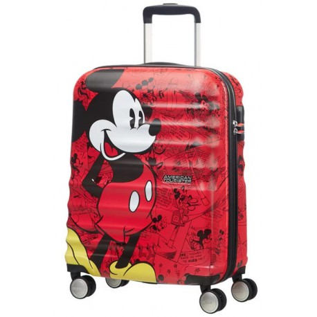 Maleta Spinner Mickey Mouse Red Disney American Tourister