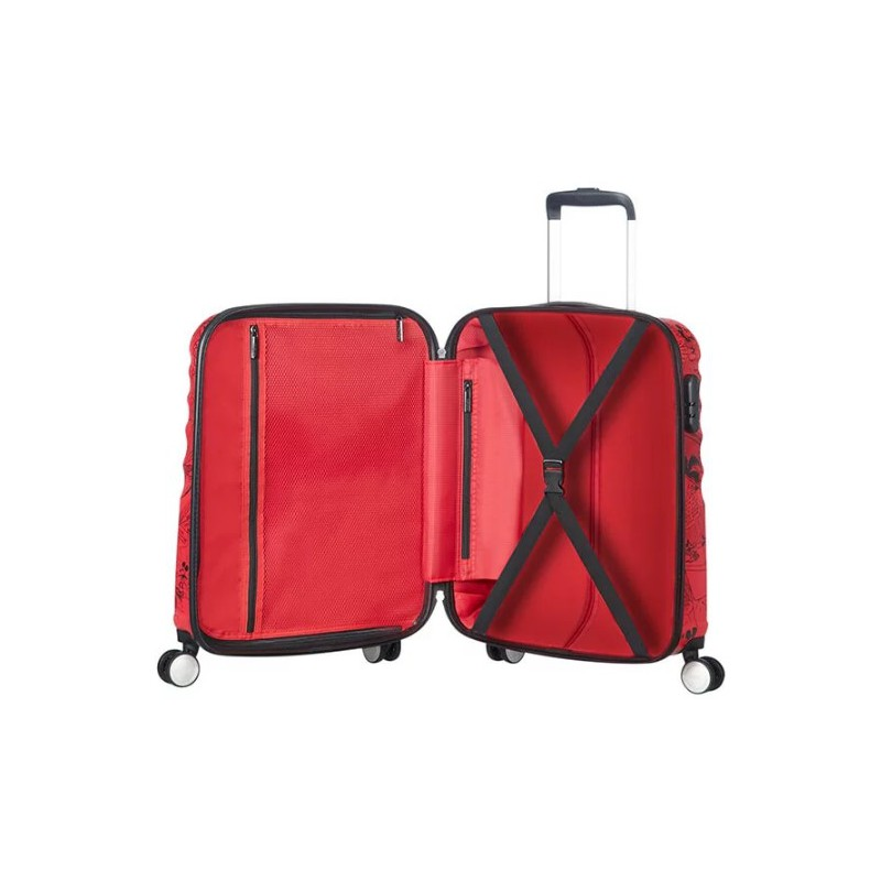 98629474dd1 ... Maleta Spinner Mickey Mouse Red Disney American Tourister ...