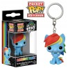 Llavero Mini Funko Pop! My Little Pony Rainbow Dash
