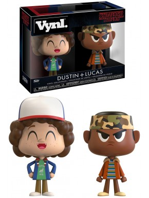 Set Figuras Dustin & Lucas Stranger Things Funko VYNL