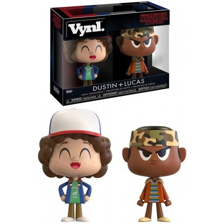 Set Figuras Dustin & Lucas Stranger Things Funko VYNL