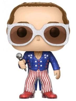 Funko Pop! Elton John con Purpurina Edición Limitada