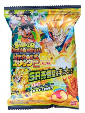 Super Dragon Ball Heroes 2 Cheese Corn Puffs