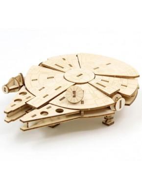 Maqueta 3D Halcón Milenario Star Wars IncrediBuilds