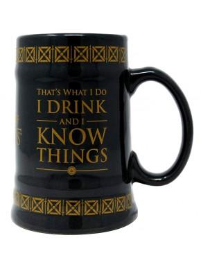Jarra de Cerveza I Know Things Juego de Tronos