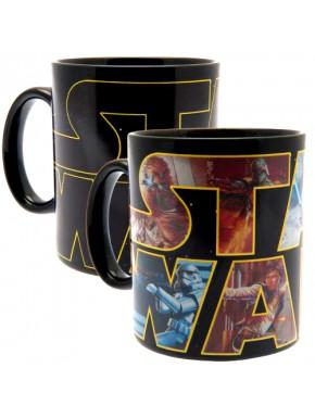 Taza térmica Star Wars Logo Personajes