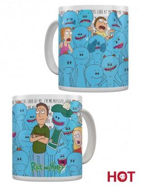 Taza Térmica Rick y Morty Meeseeks