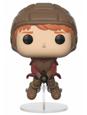 Funko Pop! Ron con Escoba Quidditich Harry Potter