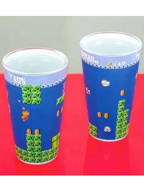 Vaso de cristal Super Mario Bros Nintendo