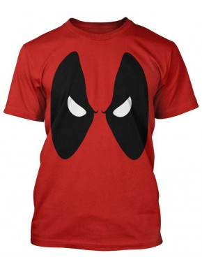 Camiseta Deadpool Ojos Marvel