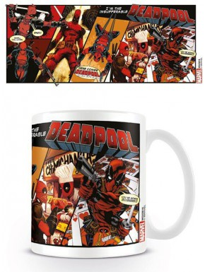 Taza Deadpool Comic Insufferable Marvel