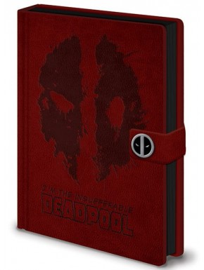 Libreta Premium A5 Deadpool Face