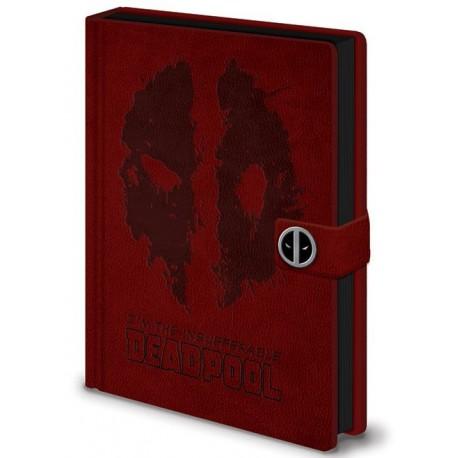 Libreta Premium A5 Deadpool Face
