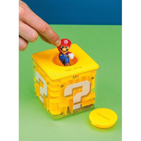 Hucha Laberinto Bloque Interrogante Super Mario 10 cm