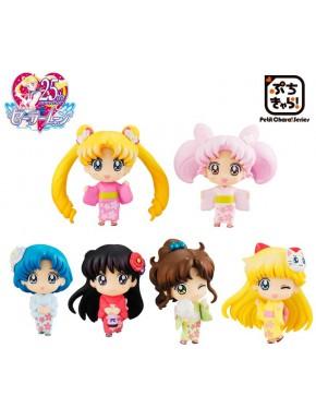 Figura Sorpresa Sailor Moon Petit Chara Cherry Blossom Festival