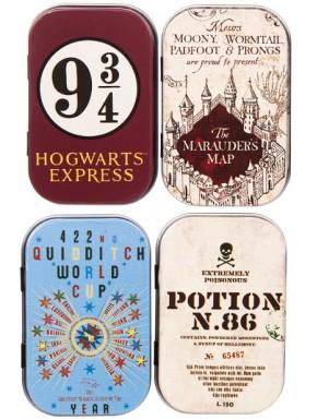 Set de cajas metal Harry Potter