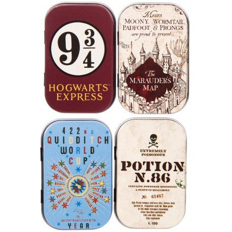 Set de cajas metal Harry Potter