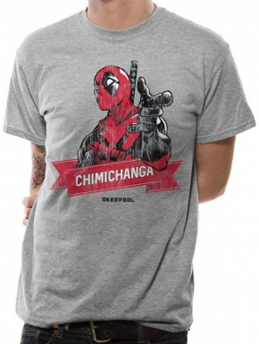 Camiseta Deadpool Chimichanga Marvel