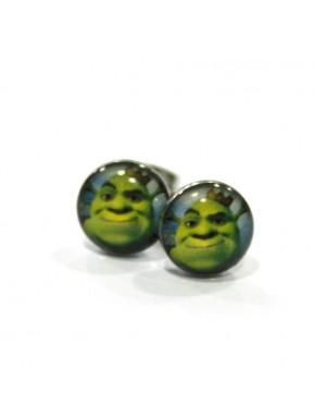 Pendientes Shrek