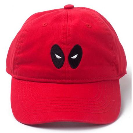 Gorra Deadpool Marvel Ojos