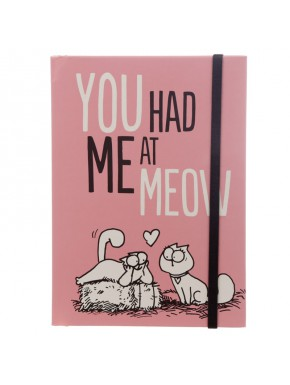 Libreta A5 Simon's Cat You Had Me At Meow