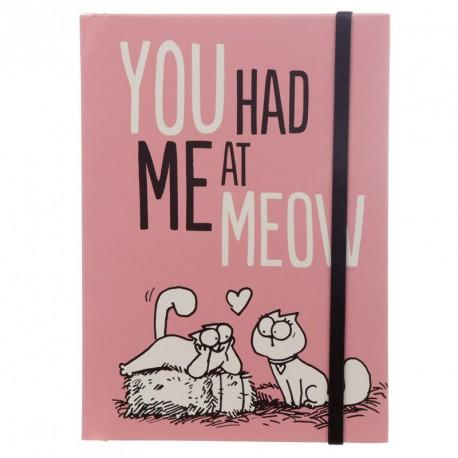 Bloc de Notas A5 Simon's Cat - You Had Me At Meow