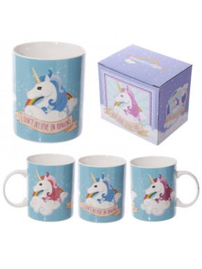 Taza Unicornio I Don't Believe in Humans
