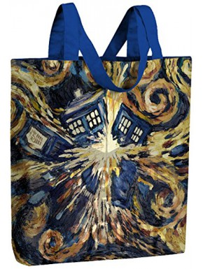 Bolsa Plegable Doctor Who Tardis Van Gogh