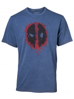 Camiseta Deadpool Marvel Denim
