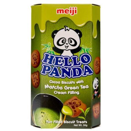 Snack Galletas de Te Macha Kawaii Hello Panda