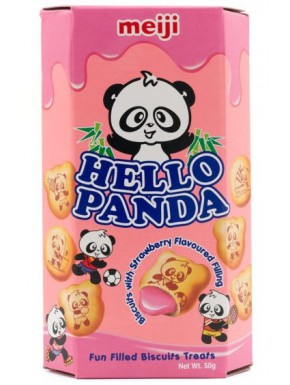 Snack Galletas de Fresa Kawaii Hello Panda