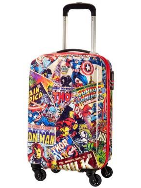 Maleta 4 Ruedas Marvel Comics Vintage American Tourister