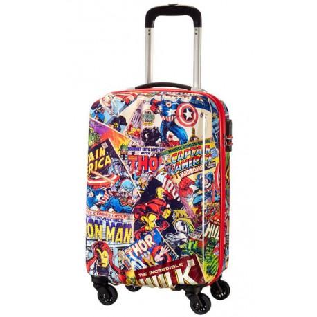 Maleta 4 Ruedas Capitán América Marvel American Tourister