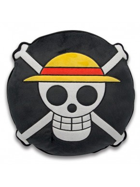 Cojín One Piece Emblema Pirata 30 cm