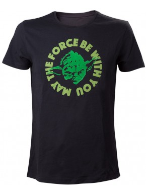 Camiseta Star Wars Yoda May The Force Be With You