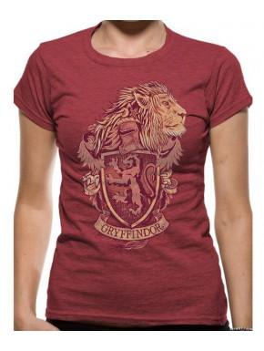 Camiseta Chica Gryffindor Harry Potter León