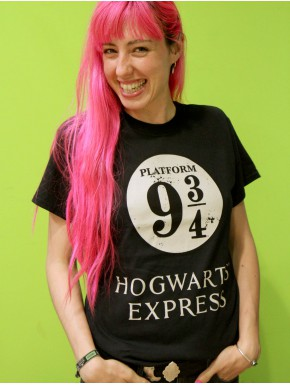 Camiseta Harry Potter Hogwarts Express Azul