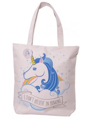 Bolsa de Algodón diseño Unicornio con cremallera