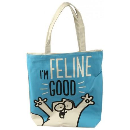Bolsa con cremallera y forro - I'm Feline Good Simon's Cat
