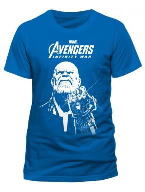 Camiseta Thanos Avengers Infinity War Guantelete