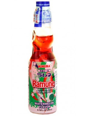 Ramune sabor Sandía Refresco 200 ml