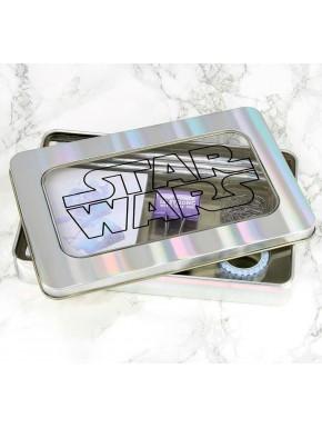 Set de Papelería Star Wars Caja Metálica