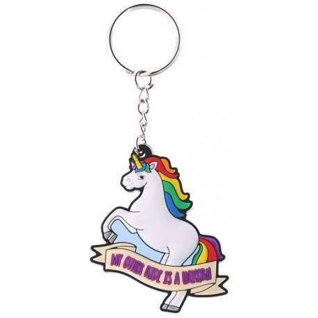 Llavero Unicornio I Don't Believe In Humans