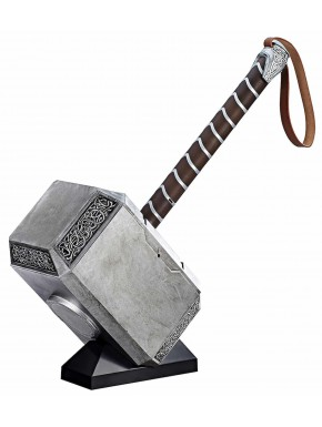 Réplica 1:1 Martillo Thor Mjolnir con Luz Marvel Legends Hasbro