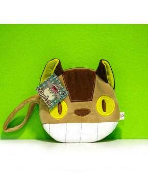 Bolsito cartera cara Gatobus Totoro Ghibli 13cm
