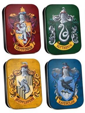 Set de cajas metal Harry Potter Houses