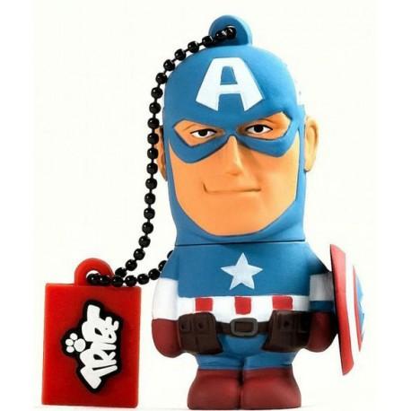 USB Tribe Capitán América 16 GB Marvel
