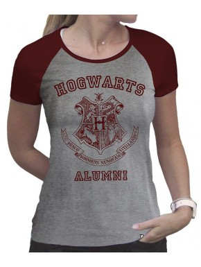 Camiseta Chica Harry Potter Hogwarts Alumni