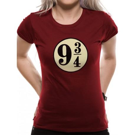 Camiseta Chica Andén 9 y 3/4 Harry Potter